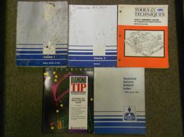 1991 Mitsubishi Truck Service Repair Shop Manual Factory Oem 5 Vol Set Book 91 - $87.11
