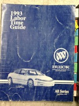 1992 1993 Buick Sceptre Concept Vehicle All Series Labor Time Guide Manual Rare - $178.19