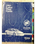 1992 1993 BUICK SCEPTRE CONCEPT VEHICLE ALL SERIES LABOR TIME GUIDE Manu... - $178.19