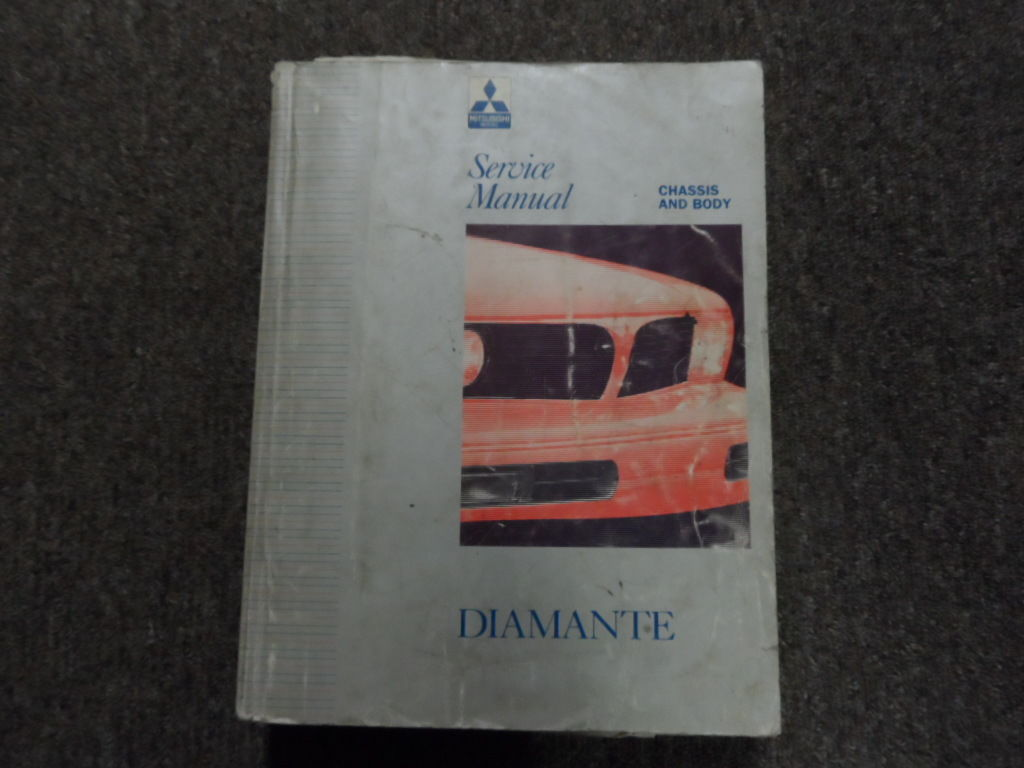 1992 1994 MITSUBISHI Diamante Service Manual Volume 1 Chassis Body BOOK 92  94