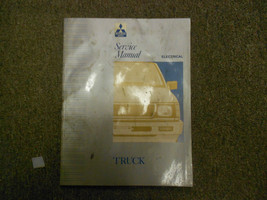 1992 1993 MITSUBISHI Truck Service Repair Shop VOL 2 ELECTRICAL FACTORY ... - $37.20