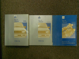 1992 1996 MITSUBISHI TRUCK Service Repair Shop Manual FACTORY OEM 3 VOL ... - $197.99