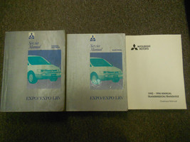 1992 1996 MITSUBISHI Expo Expo LRV Service Repair Shop Manual 3 VOL SET ... - $178.20