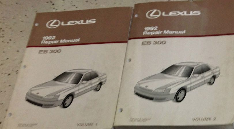 1992 lexus es300 es 300 service repair shop and 50 similar items rh bonanza com 1992 lexus es300 owners manual 1992 lexus es300 service manual