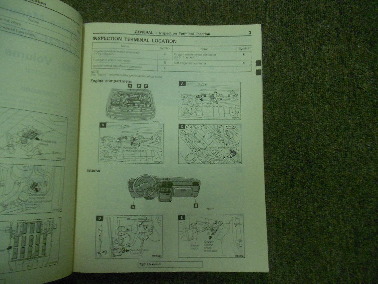 ... 1992 MITSUBISHI Mirage Service Repair Shop Manual OEM 92 Volume 2  Electrical ...