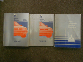 1992 MITSUBISHI Mirage Technical Bulletins Service Repair Manual SET FAC... - $30.83