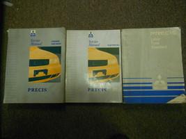 1992 Mitsubishi Precis Service Repair Shop Manual Set Factory Oem Book 92 Deal - $27.68