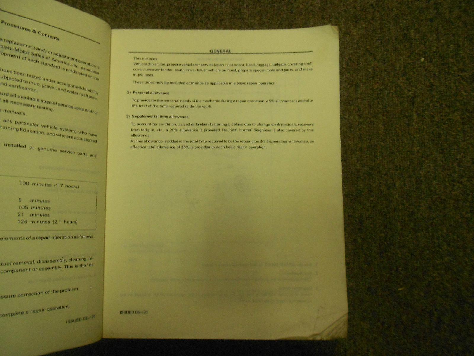 1992 MITSUBISHI Precis Service Repair Shop Manual SET FACTORY OEM BOOK 92 DEAL