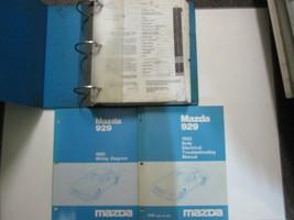 1992 Mazda 929 Service Repair Shop Manual Set Factory Oem Book 92 Great Deal - $114.01
