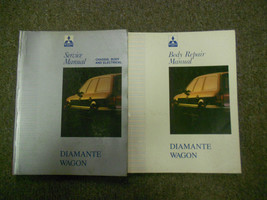 1993 MITSUBISHI Diamante Wagon Service Repair Shop Manual SET 2 VOL FACT... - $59.36