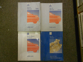 1993 MITSUBISHI Mirage Service Repair Shop Manual 4 Volume SET OEM BOOK ... - $178.20