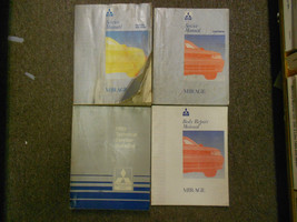 1993 Mitsubishi Mirage Service Repair Shop Manual Set 4 Vol Oem Book 93 Factory - $59.36