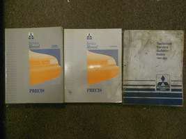 1993 Mitsubishi Precis Service Repair Shop Manual 3 Vol Set Book 93 Oem Factory - $28.20
