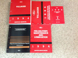 1994 FORD MERCURY VILLAGER Service Shop Repair Manual Set 94 W EWD PCED ... - $64.35