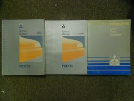 1994 Mitsubishi Precis Service Repair Shop Manual Factory 3 Vol Set Oem Book 94 - $39.56