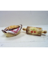 LEFTON CHINA SALT & PEPPER SHAKER - $7.50