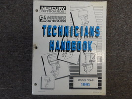 1994 Mercury Mariner Technicians Handbook Shop Manual FACTORY OEM BOOK 94 - $38.60
