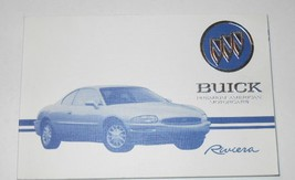 1995 GM BUICK RIVIERA Owners Manual Glove Box Factory DEALERSHIP 1995 BU... - $59.40