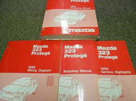 1995 Mazda 323 Protege Service Repair Shop Manual Set Factory Books Oem 95 - $133.61