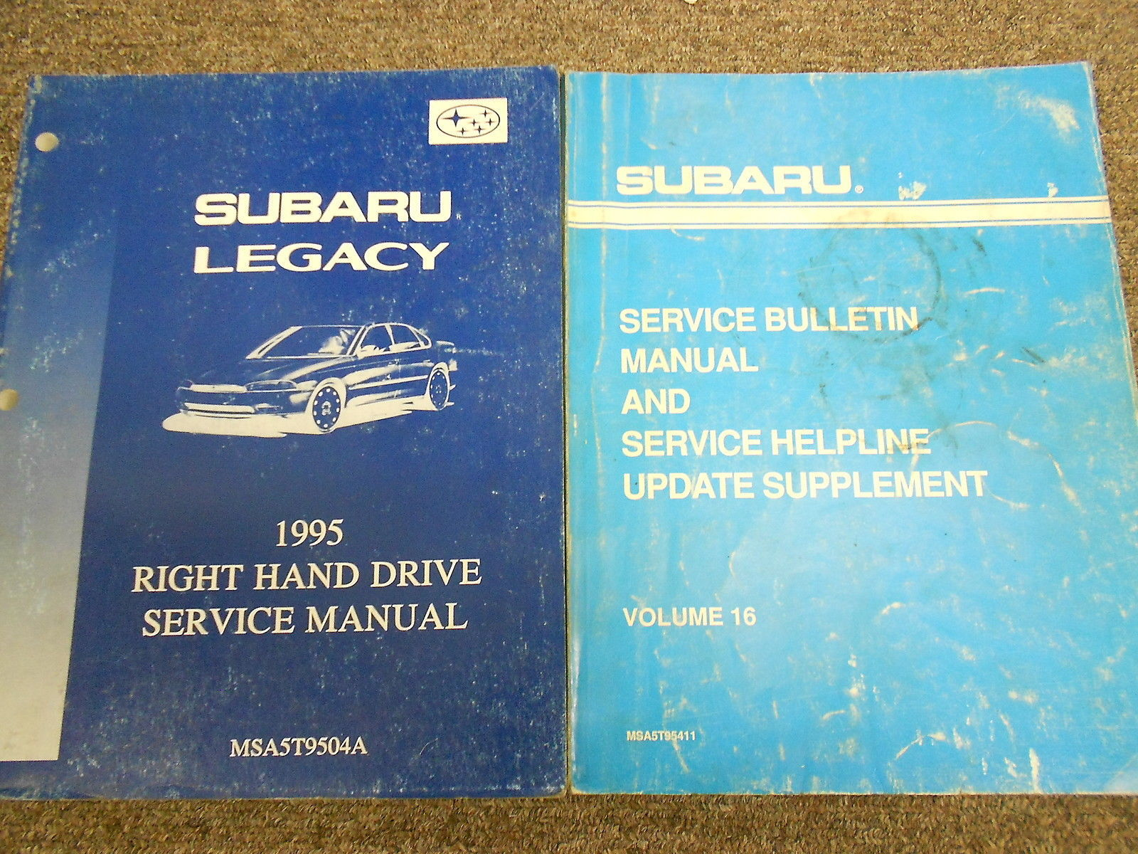 1995 Subaru Legacy Service Repair Shop Manual SET FACTORY OEM BOOKS 95