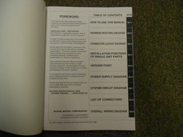 1995 Suzuki Esteem Wiring Diagram Shop Manual FACTORY OEM BOOK 95 2ND ED U.S VOL image 2