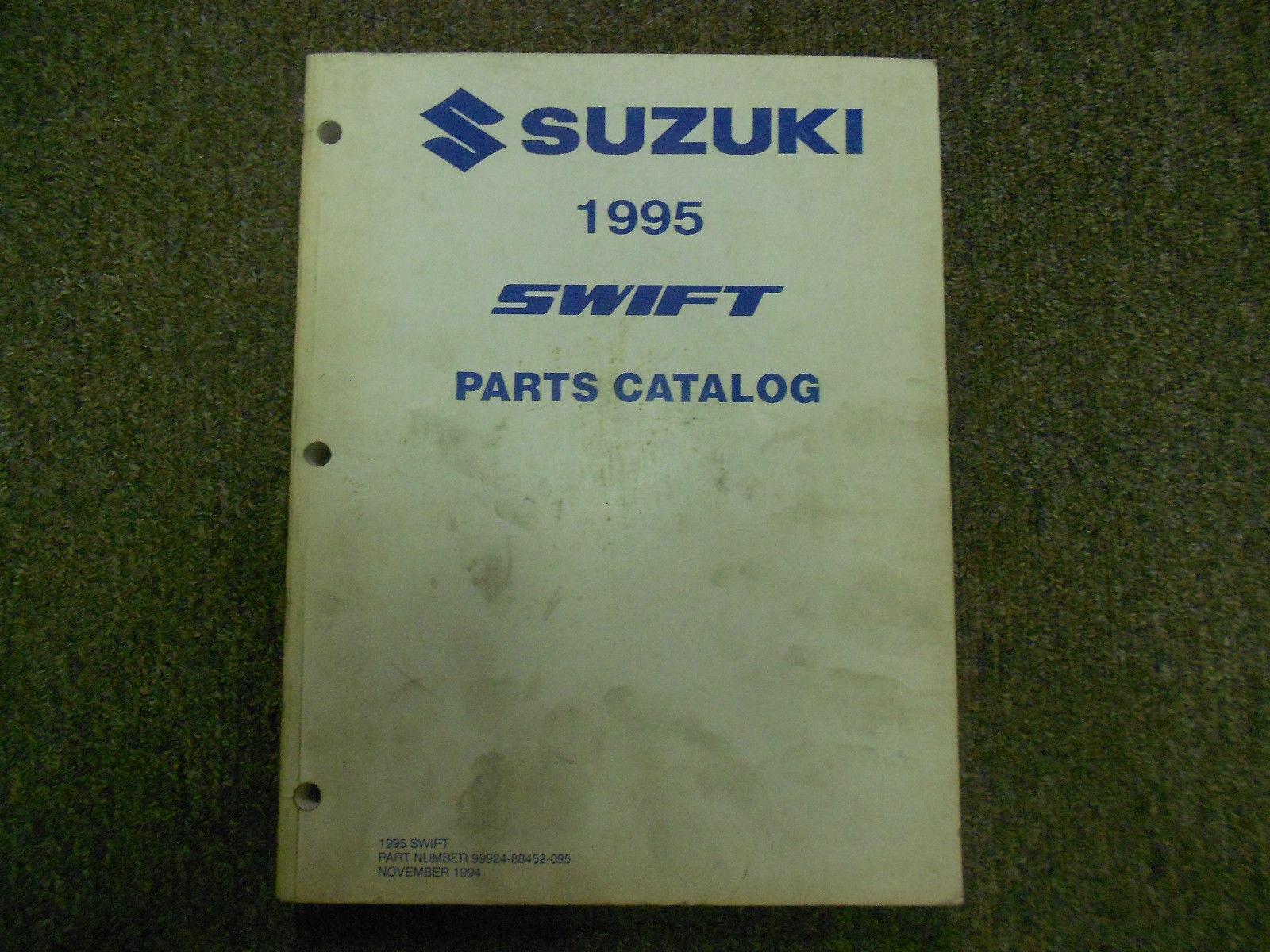 1995 Suzuki Swift Parts Catalog Manual and 50 similar items
