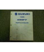 1995 Suzuki Swift Parts Catalog Manual FACTORY OEM NOVEMBER 94 EDITION DEAL - $35.60
