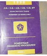 1996 DODGE CHRYSLER STEALTH POWERTRAIN Diagnostics Procedures Service Ma... - $40.13