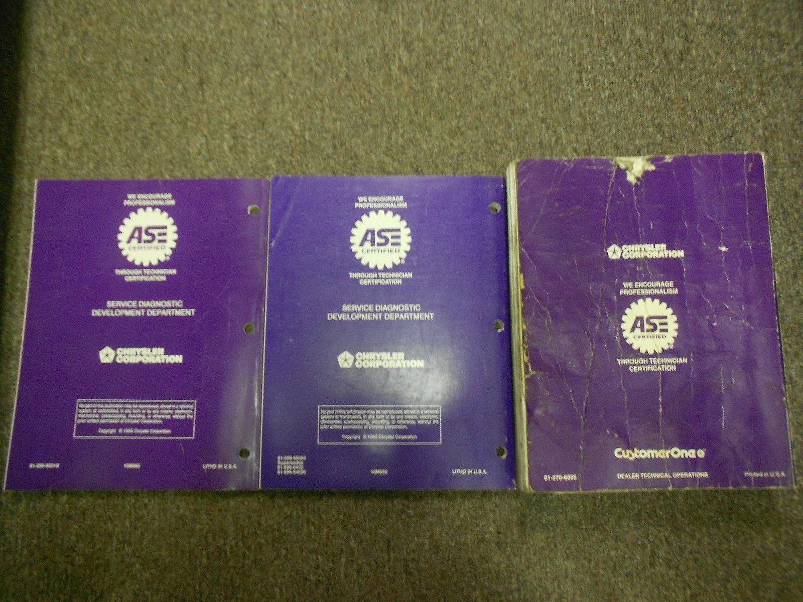 ... 1996 DODGE PLYMOUTH NEON Service Repair Shop Manual OEM 96 DEALERSHIP  BOOK SET
