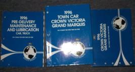 1996 FORD CROWN VICTORIA MERCURY GRAND MARQUIS Service Shop Manual Set F... - $60.39