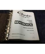 1996 Honda CIVIC COUPE 2 DOOR Parts Catalog Shop Manual Book Factory OEM - $52.68