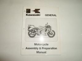 1996 Kawasaki General Motorcycle Assembly & Preparation Manual FACTORY OEM DEAL - $16.78