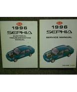 1996 Kia Sephia Service Repair Shop Manual Set Factory Books OEM 96 X - $83.16