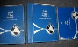 1997 Ford F-150 F150 TRUCK Service Shop Repair Manual Set W EWD & PCED 4... - $262.88