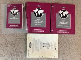 1997 Ford F-250 350 F250 F350 Truck Service Shop Repair Manual Set W SPE... - $262.40