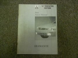 1997 MITSUBISHI Diamante Body Repair Service Shop Manual Tentative Editi... - $11.87
