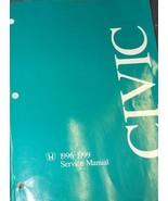 1998 HONDA CIVIC  Service Shop Repair Workshop Manual BRAND NEW 1998 - $108.92