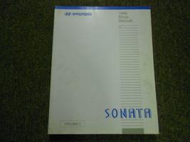 1998 HYUNDAI SONATA Service Repair Shop Manual V2 Body Electrical Heatin... - $15.80