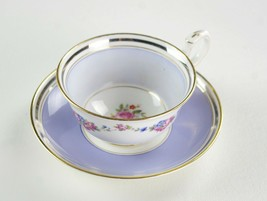 Paragon Lavender Cabbage Rose Floral Cup & Saucer Set 1923 Star Mark Gold F397 6 - $49.00