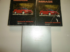 1998 MITSUBISHI Mirage Service Repair Shop Manual 3 VOL SET FACTORY OEM ... - $79.19