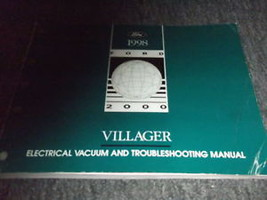 1998 Mercury Villager Van Wiring Electrical Shop Manual - $6.83