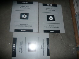 1999 Dodge Plymouth Neon Service Diagnostics Procedures Manual Set OEM F... - $24.70