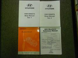 1999 HYUNDAI SONATA Service Repair Shop Manual 4 VOL SET OEM BOOK 99 DEA... - $49.11
