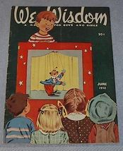 Wee Wisdom June 1952 Children's Magazine - $6.00