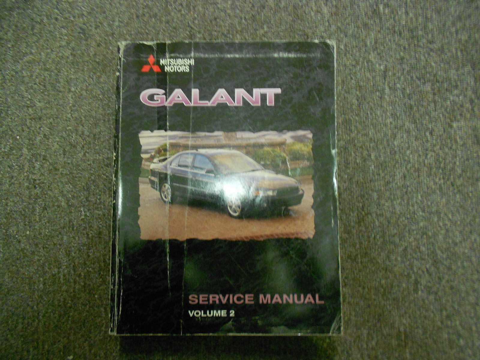 1999 MITSUBISHI Galant Service Repair Shop Manual VOL 2 FACTORY OEM BOOK 99  DEAL