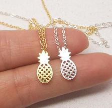 Shuangshuo Pineapple Theme Pendant / Necklace Link with Chain for Ladies / Women image 5