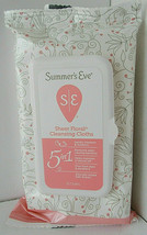 Summers Eve Sheer Floral Cleansing Cloths Feminine Wipes 32 Cloths Count - $8.90
