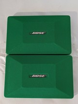 Lot of 2 Pair Bose Kelly Green Speaker Covers 22.9cm x 15.2cm OEM - $68.40