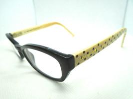 Kate Spade Womens Rx Eyeglass Frames Helga BY20 Black White 46-14-135 Ap... - $34.49