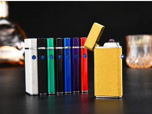 Dual Arc Electric USB Cigarette Lighter Rechargeable Windproof